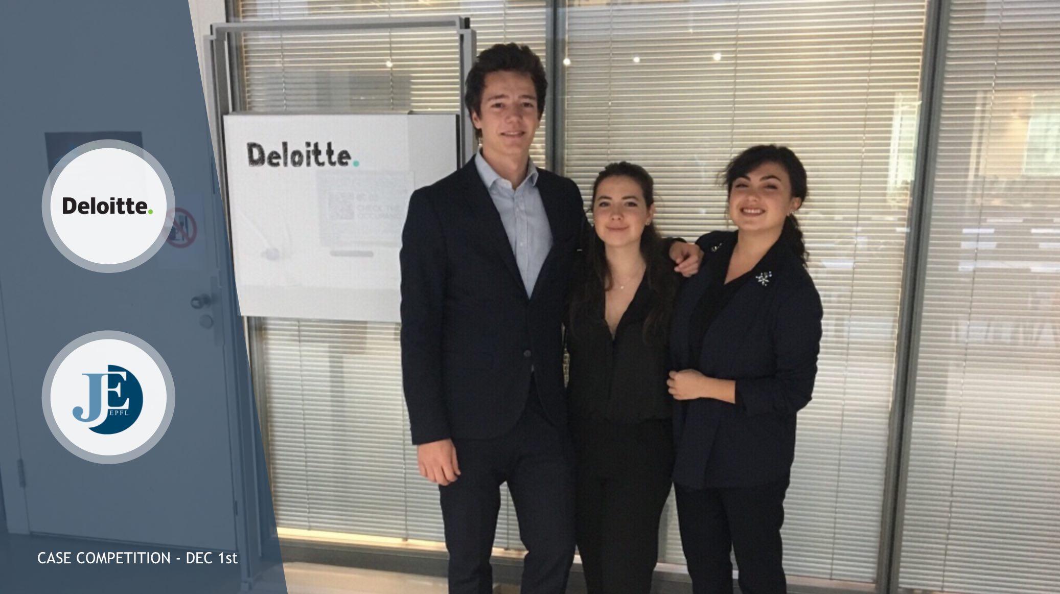 Deloitte Business Case Championship - Résultats
