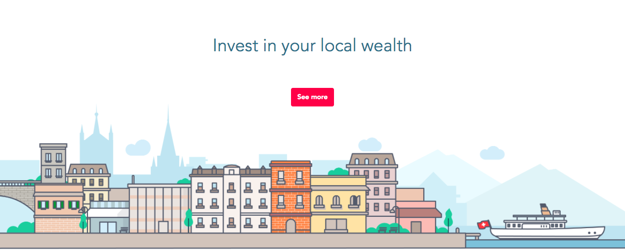 Un site Web vitrine pour lancer la start-up MyBrick.ch