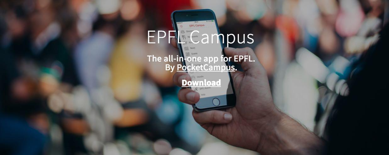 Nos jobs disponibles en un clic sur l'application iOS EPFL Campus!