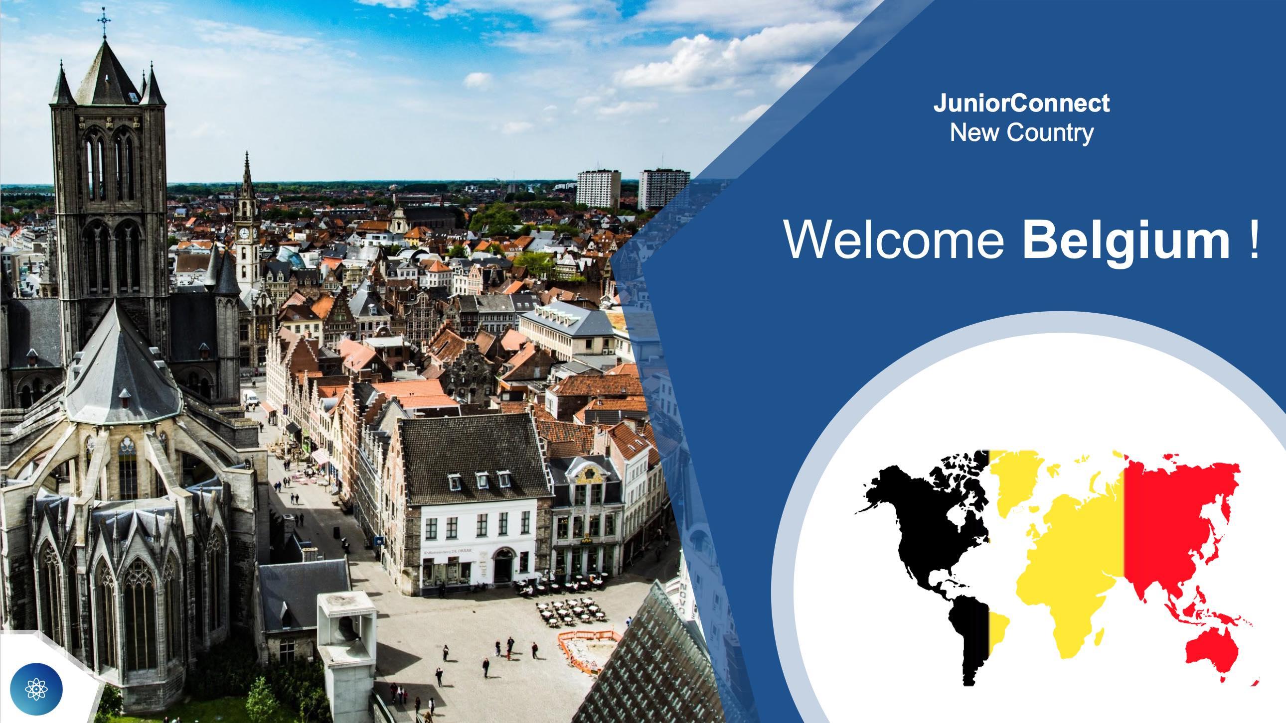Welcome Belgium !
