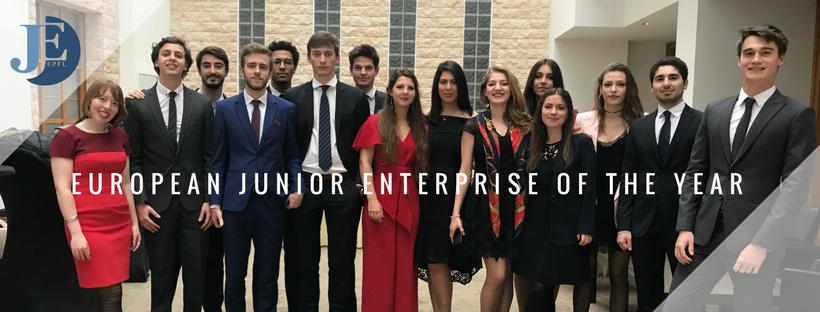La Junior Entreprise EPFL élue Junior Entreprise Européenne de l'Année!