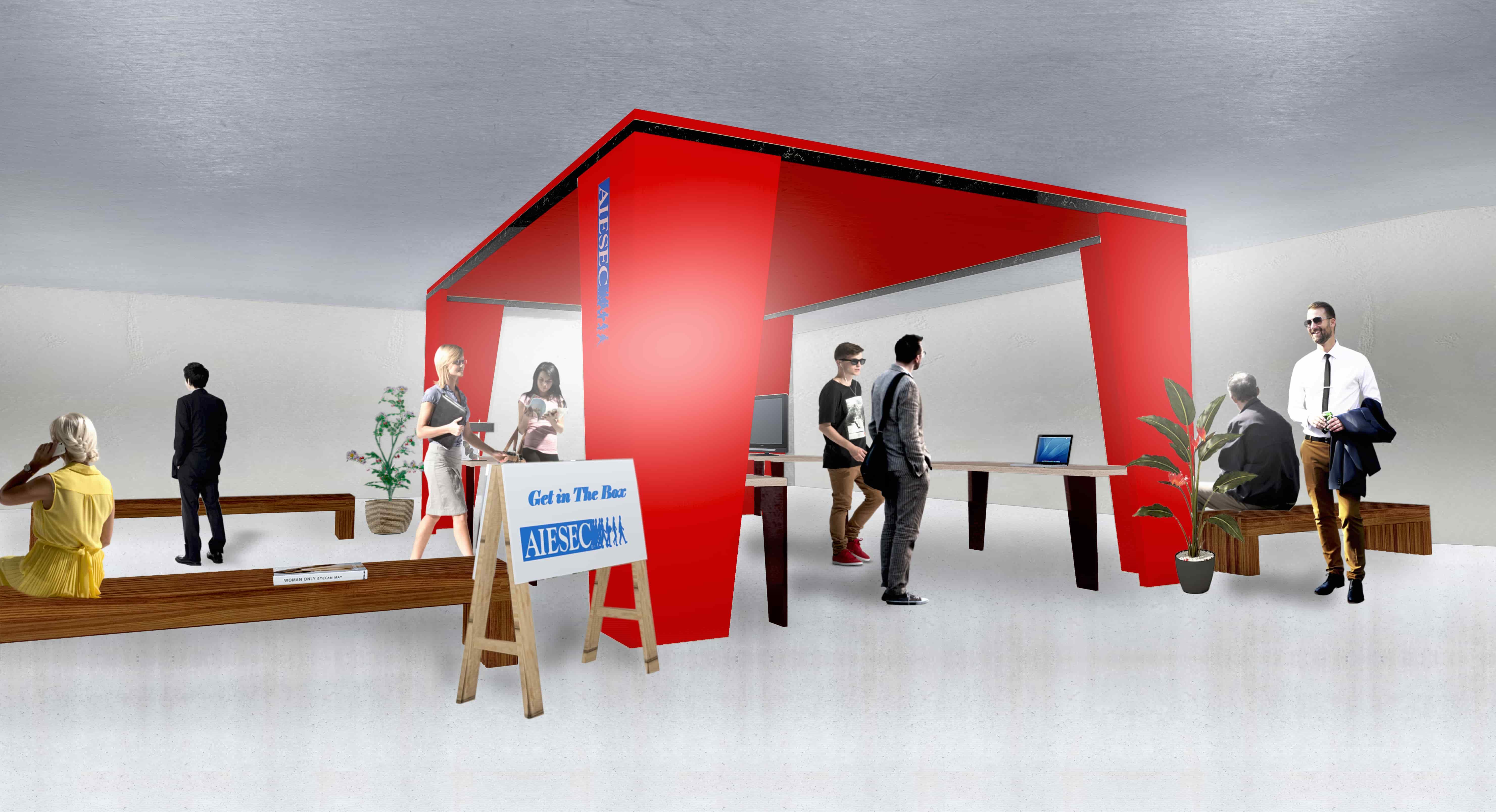 Un espace de rencontre conçu par la Junior Entreprise EPFL